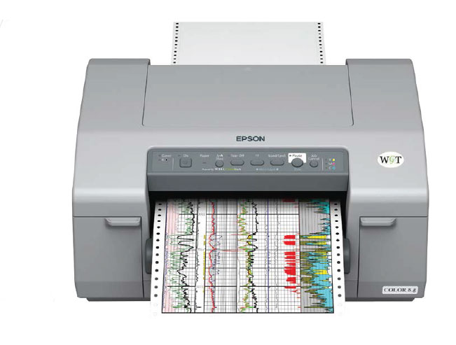 WELL GREEN TECH WGT COLOR 8.5 WELL LOG PRINTER
